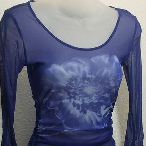 INC Nylon Long Sleeve Camisole/Top
